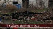 Leégett a család 100 éves háza