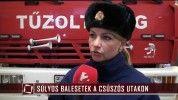 Jégkaparót osztottak a rendőrök Szegeden