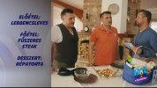 Sipos Tomi és Peti menüje (receptekkel)