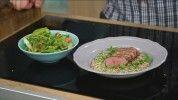 Pácolt kacsamell rebarbarás quinoával (recepttel)