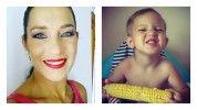 Elolvadsz! Fésűs Nelly kislánya kukoricát majszol