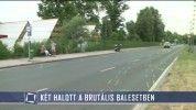 Két halott a brutális balesetben