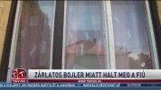 Zárlatos bojler miatt halt meg a fiú