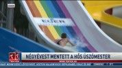 Négyévest mentett a hős úszómester