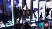 Brutális! Gömöri András Máté 8 ajtót tört át egy lendülettel