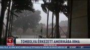 Tombolva érkezett Amerikába Irma