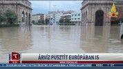 Árvíz pusztít Európában is