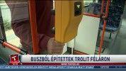 Buszból építettek trolit féláron