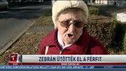 Zebrán ütötték el a férfit
