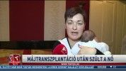 Májtranszplantáció után szült a nő