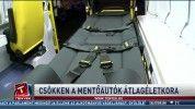 Csökken a mentőautók átlagéletkora