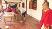 Ilyen lelkesen nem láttál még takarítani férfit, mint Megyeri Csilla párját!