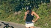 Dráma! Kulcsár Edina asztmás rohamot kapott biciklizés közben