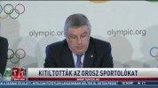 Kitiltották az orosz sportolókat