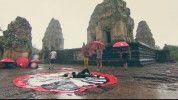 Kiterült a zuhogó esőben az örömtől Kulcsár Edina
