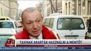 Taxinak akarták használni a mentőt