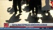 Hatalmas sztrájk Görögországban