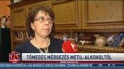 Tömeges mérgezés metil-alkoholtól