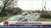 Autós üldözés Budapesten
