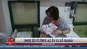 Imre és Flóris az év első babái
