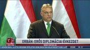 Orbán: erős diplomáciai évkezdet