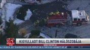 Kigyulladt Bill Clinton hálószobája