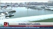 Dunába esett a hídról