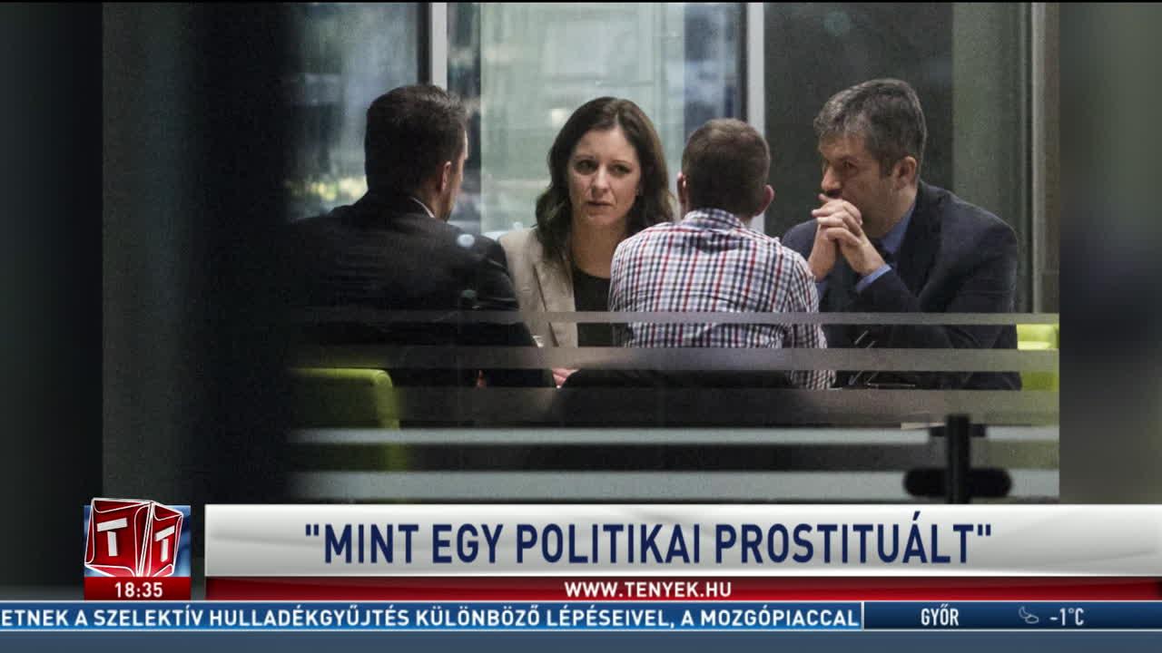 """""""Mint egy politikai prostituált"""""""